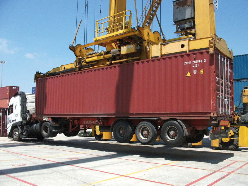 Lasstec Container Weighing System Conductix Wampfler
