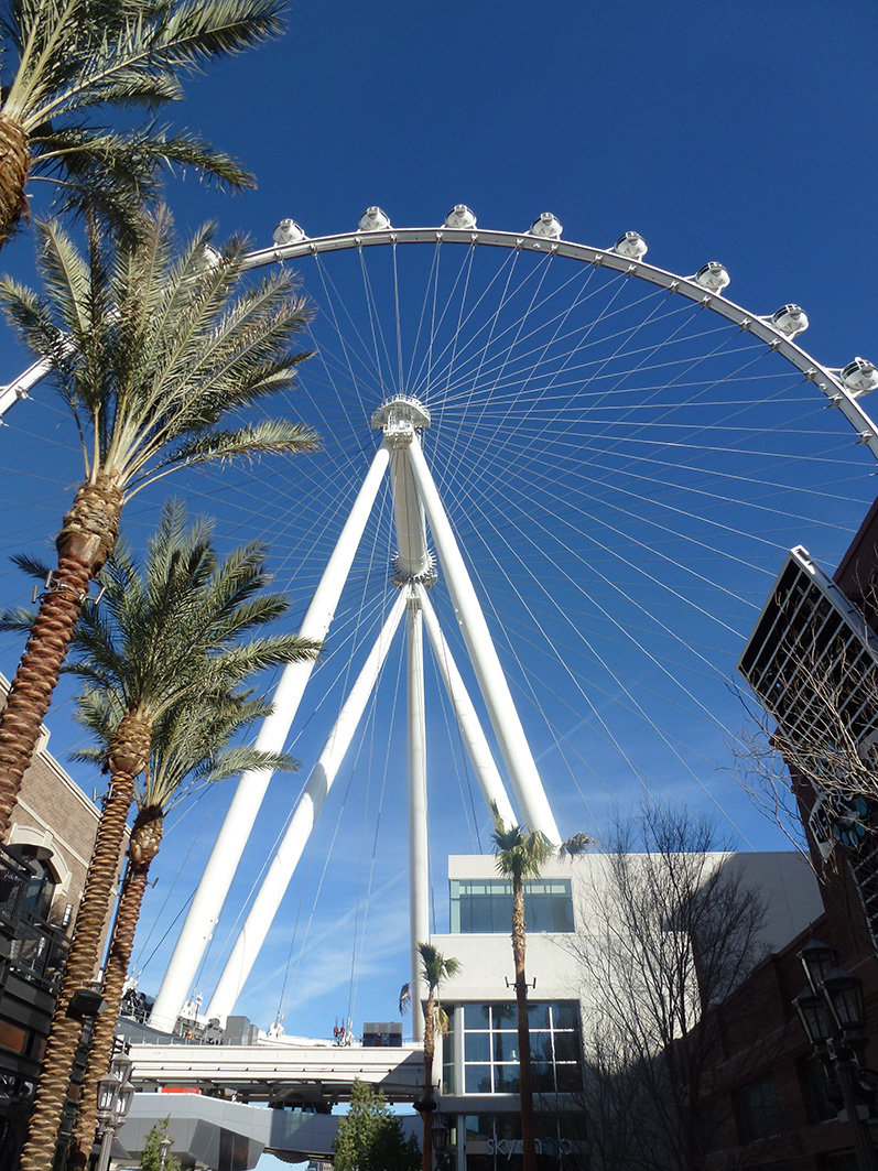 News Giant Wheel High Roller In Las Vegas Powered By