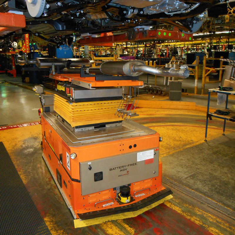 News Using Wireless Battery Free Agvs In Manufacturing
