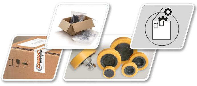 Componentes de recambio - Repuestos - Servicio técnico - Conductix-Wampfler