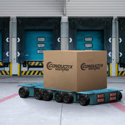 Enduro+ Automated Guided Vehicle AGV charging contacts