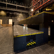 Stage Lifts are often elctrified by Conductix-Wampfler Cable Chains