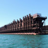 The Duluth Ore Docks