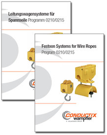 "Catalog ""Festoon Systems for Wire Ropes"" Program 0210/0215"