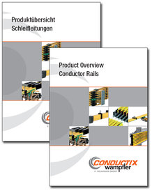 "Catalog ""Product Overview Conductor Rails"" Program 0800"
