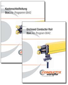 "Catalog ""Enclosed Conductor Rail | BoxLine"" Program 0842"