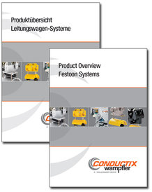 "Catalog ""Product Overview Festoon Systems"" Program 0200"