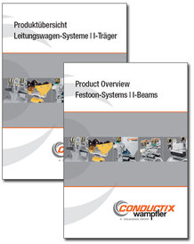"""Catalog """"Festoon Systems for I-Beams 