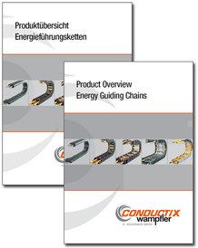 """Katalog """"Produktübersicht Energieführungsketten"""" Programm 3100"""