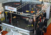 Conductix-Wampfler Stand an der Logimat 2010
