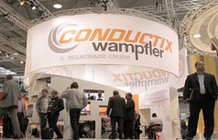 Conductix-Wampfler at the CeMAT 2011